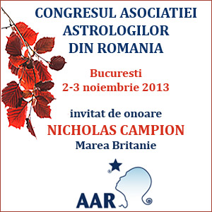 Nick Campion, invitat de onoare la Congresul AAR!